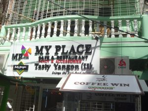 LGBT cafe, Yangon, My Place